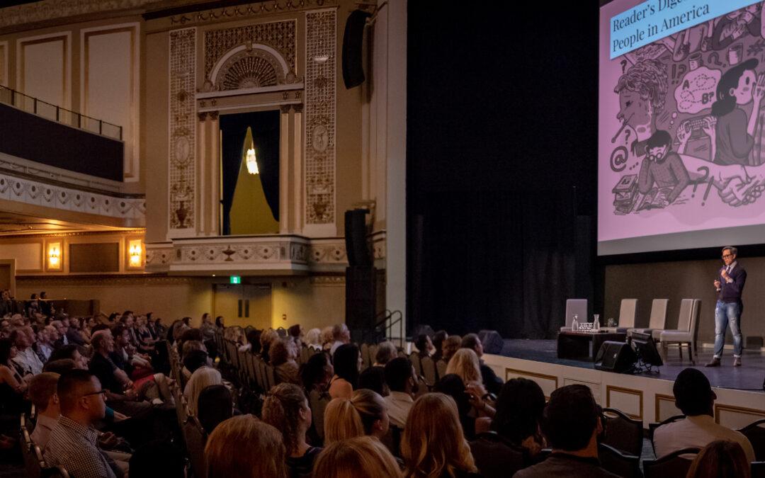 Full House for Entertaining Science Talk